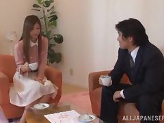 Anal sex with a delightful Japanese bunny