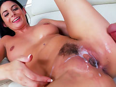 All, Blowjob, Brunette, Cumshot, Deepthroat, Masturbation