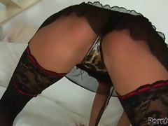 Shaved Pussy, Big Tits, Brunette, Fisting, Lesbian, Lingerie