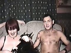Vintage Mature, Amateur, Blowjob, British, Brunette, Cum