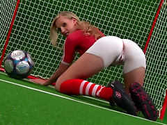 Sport, Blonde, Fingering, HD, Posing, Small Tits