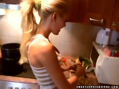 All, Blonde, Cute, Housewife, Kitchen, Pretty