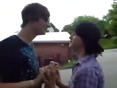 Emo Boys Kissing