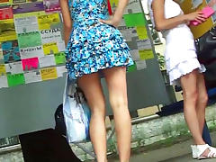 Spy, Dress, Legs, Outdoor, Public, Spy