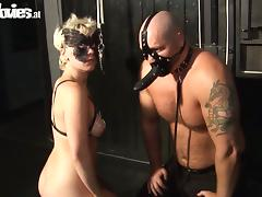 Wild Kinky BDSM Sexual Action with Redhead and Brunette MILFs