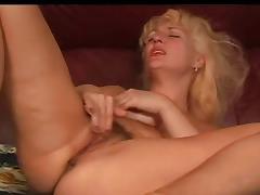 Blonde, Blonde, Fingering, Masturbation, Mature