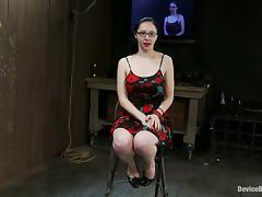 Spanking and Torturing Maggie Mayhem in Bondage Video