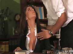 Divine milf Roberta Gemma loves the feeling of cum