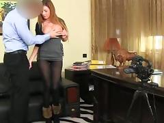 Sexy and petite amateur honey did a great job in the casting