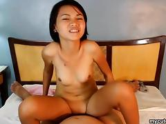 Asian Teen, Amateur, Asian, Couple, Cowgirl, POV