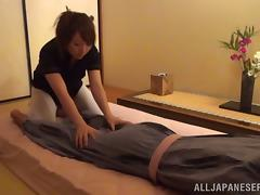 Japanese wife enjoys multiposition sex before going to bed
