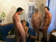 Aged, Aged, Banging, French, Gangbang, Group