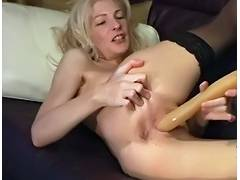 Aged, Aged, Blonde, Mature, Toys