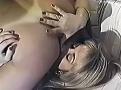 Hottie Licks three 1989 porn video