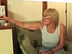 This Babe enjoys fucking her son in law