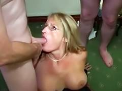 British Wench Mother Likes Cum Facual Cumshots Crystal two