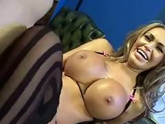 FFFM, Bitch, Blonde, British, Foursome, Nylon