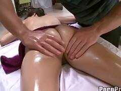 Hawt Large Tit April Receives Moist Massage