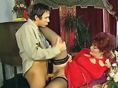 Grandmas Shaggy Snatch Is Open For Her Youthful Paramour porn video