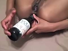 Bottle, Amateur, Anal, Ass, Asshole, Bottle