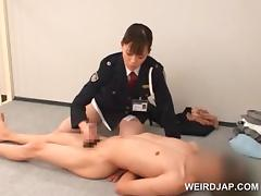 Police, Amateur, Asian, Cop, Couple, Cunt