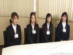 Reiko Nishimur gets fucked at the headmaster's office
