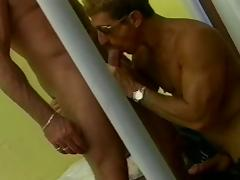 Wild cop bangs a beefy prisoner in his cell porn video