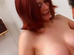 leeloo three , french redhead