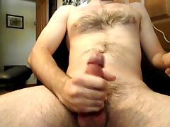 jack off and big cum shot