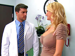 Doctor, Blonde, Cumshot, Cute, Doctor, Pornstar