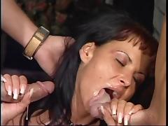 Double cumshot mix