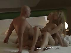 Ultra erotic fairhairs FFM threesome