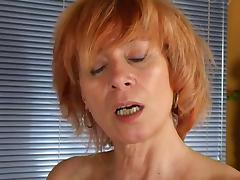 Redhead Masturbation Home