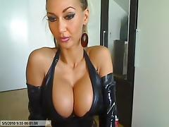 Private webcam sex sessions in latex
