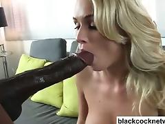Mandingo violates hot blonde babe