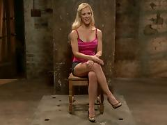 Cherie Deville gets tormented by a woman in hot BDSM clip