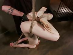 Mallory Mallone gets her snatch fisted and fucked with a dildo