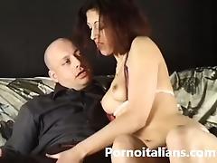 Italian porn - figa rossa scopata da italiano porcello