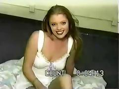 Redhead Darling Daejha Handjob And Facial