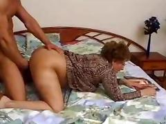 Hairy Granny Catches Grandson Jacking porn video