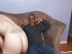 Daughter, Ass, Big Ass, Big Cock, Brunette, Cum