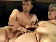 Mature couple home sex
