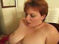 BBW Piano Teacher Fucked