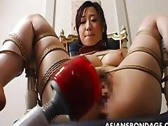 Japanese, Asian, Bondage, Bound, Couple, Dildo