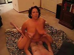 BBW Riding and Sucking on some Cock