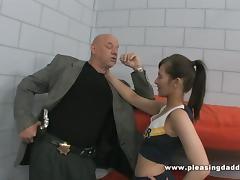 Dad, Anal, Ass, Assfucking, Cheerleader, Jail