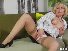 All, Blonde, Blowjob, Cougar, Heels, Masturbation