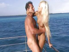 Boat, Blonde, Blowjob, Boat, Couple, Cunt