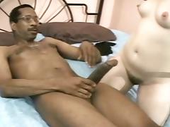 Vintage Midget and Black porn video