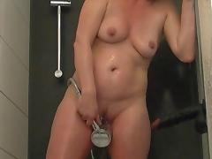 Bathing, Amateur, Bath, Bathing, Bathroom, German